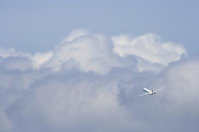 JEX MD-81 Climb&Leftturn@スカイランドHARADA