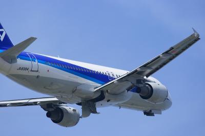 ANA A320-211 JA8384@AFO