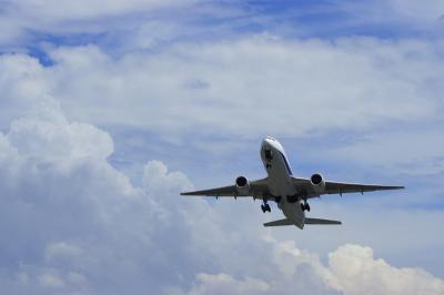 ANA B777-281 Airborne@14エンド