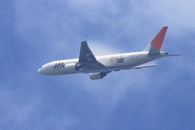 JAL B777-246 JL112@瑞ヶ池