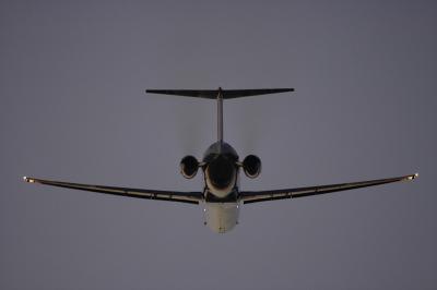 JEX MD-81 Airborne@14エンド