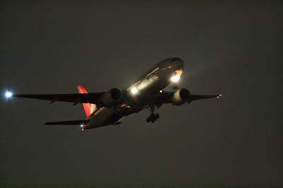 JAL B777-246 JL128 Airborne@AFO