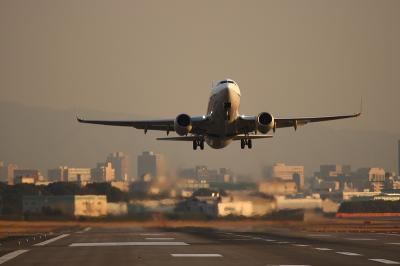 ANA B737-781 NH445 Airborne@14END
