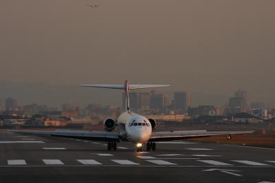 JAL MD-87 JL2166 After Landing@14END