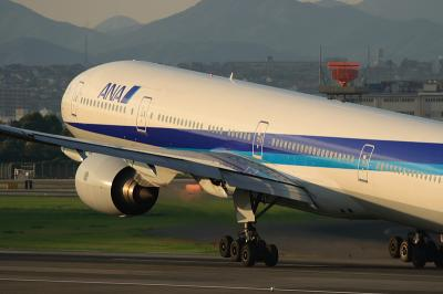 ANA B777-381 NH34 Liftup@スカパ