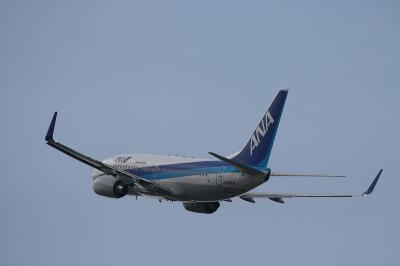 ANA B737-781 Departure@RWY14Rエンド