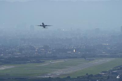 ANA B777-381ER Airborne@宝塚中山桜台