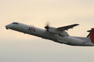 JAC DHC-8-Q400 Airborne@14エンド