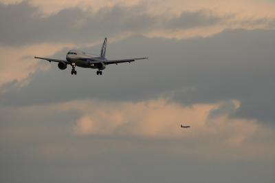 ANA A320 & JAC SAAB340@伊丹スカイパーク