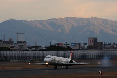 JAL MD-81 JC2408@伊丹スカイパーク