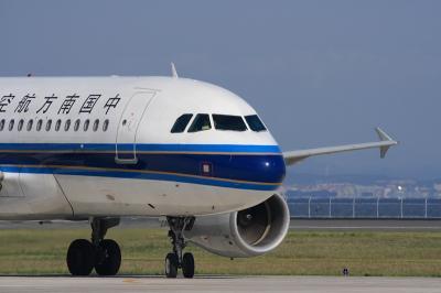 中国南方航空A319スポットイン