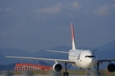 JAL A300-600R After Pushback