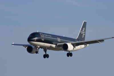 StarFlyer A320ランディング