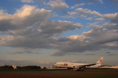 JAL B777-246 StarJet@スカイランドHARADA by EF28-90 F4-5.6Ⅲ