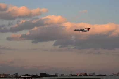 JAC DHC-8-Q400@スカイランドHARADA by EF28-90 F4-5.6Ⅲ