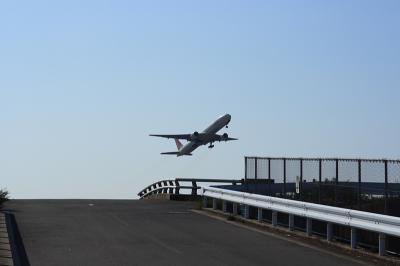 JAL B777-346 Airborne@14エンドAFO周辺