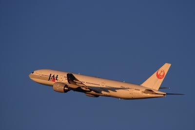 JAL B777-246 SterJet Procyon JL126@イオンモール屋上駐車場