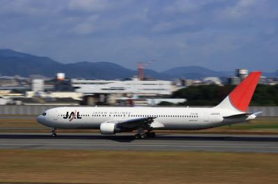 JAL B767-346 Rolling@スカイランドHARADA(SS:1/30)