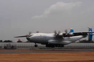アントーノフ航空An-22@スカイランドHARADA(by EF100-400)