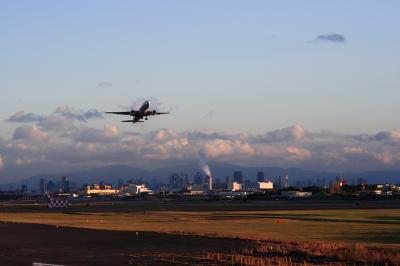 ANA B777-281 Airborne@14Lエンド