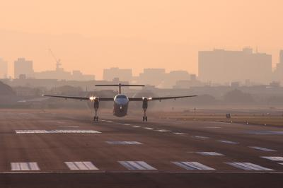 JAC DHC-8-Q400 Airborne@14エンド(by EF100-400)