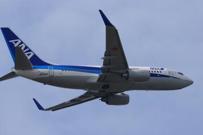 ANK B737-781 RWY32R Airborne@AFO( by EF100-400)