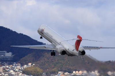 JAL MD-90 JL2243@伊丹スカイパーク