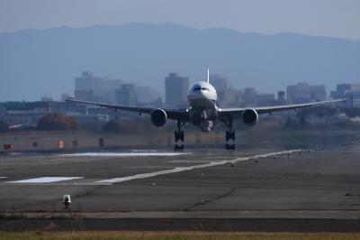 ANA B777-381 NH24 Liftup@14エンド(by EF100-400)
