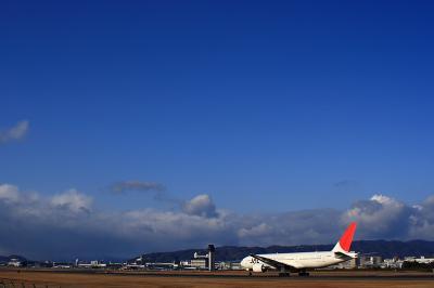 青空 with JAL B777-246@スカイランドHARADA