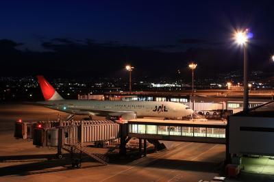 JAL B777-246@大阪国際空港展望デッキ LaSora