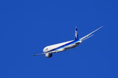 ANA B777-381ER NH2176@AFO(by EF100-400)