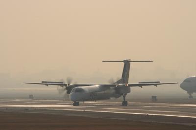 JAC DHC-8-Q400 Arrival@AFO