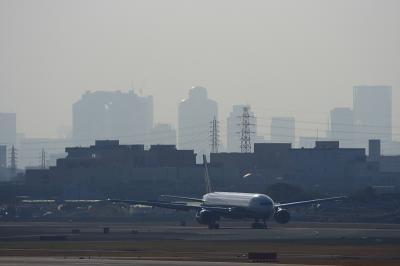 ANA B777-381 Arrival@AFO(by EF100-400)