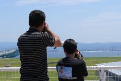 2007/6/23関空展望ホールにて