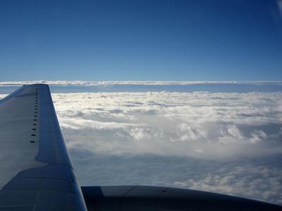 2月3日空路の機窓から(ANA B777-281 NH421)by IXY DIGITAL L3
