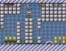 自作の改造マリオ(スーパーマリオワールド)を友人にプレイさせる 2