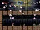 自作の改造マリオ(スーパーマリオワールド)を友人にプレイさせる 5