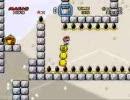 自作の改造マリオ(スーパーマリオワールド)を友人にプレイさせる10