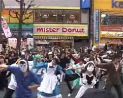 驚異的な大人数でハレ晴レユカイを踊るOFF