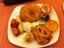 ホテルの朝食6