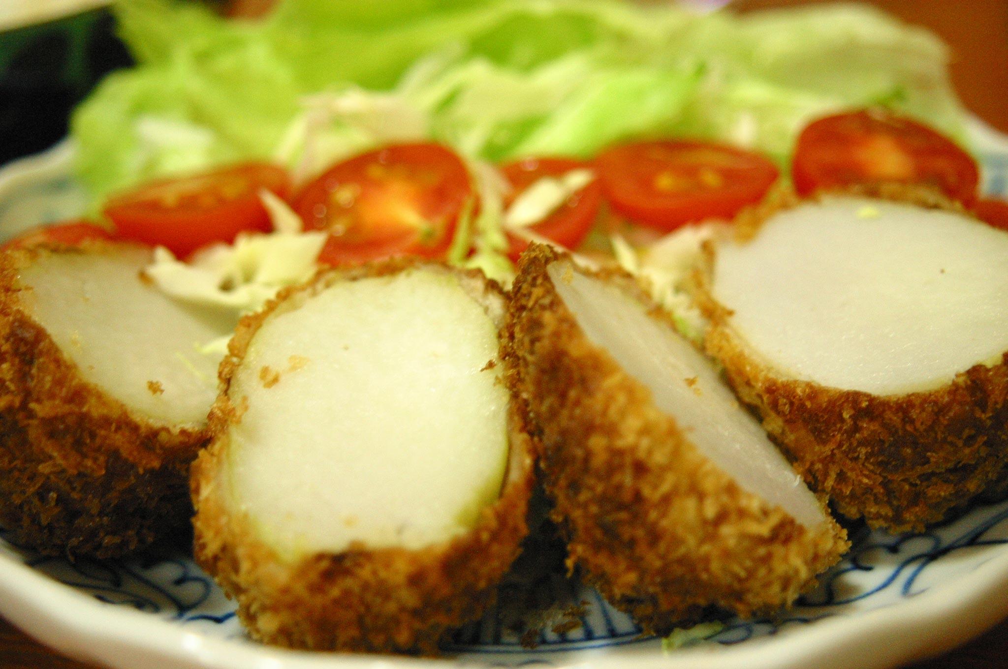 里芋のフライ