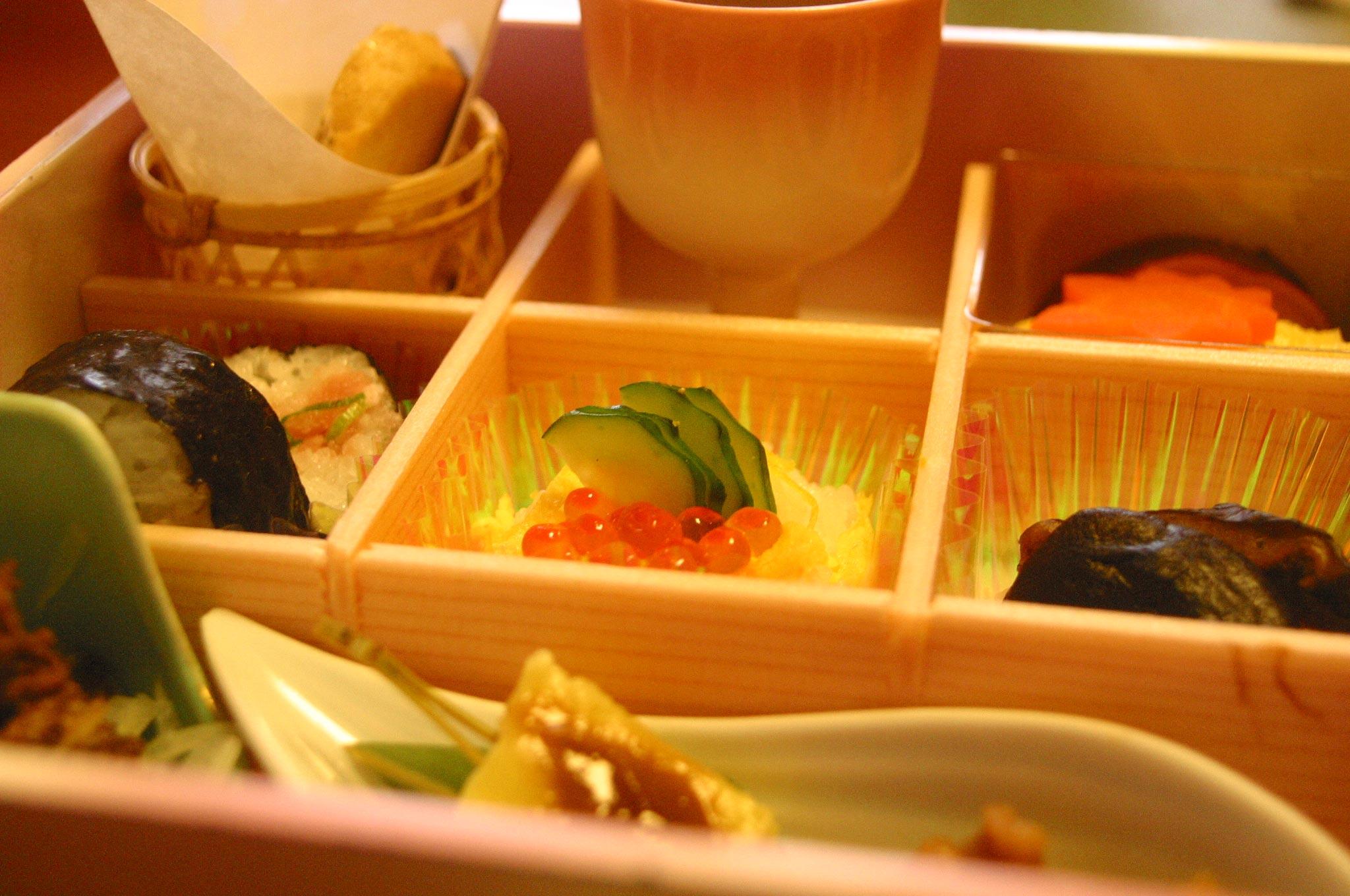 がんこ寿司の弁当