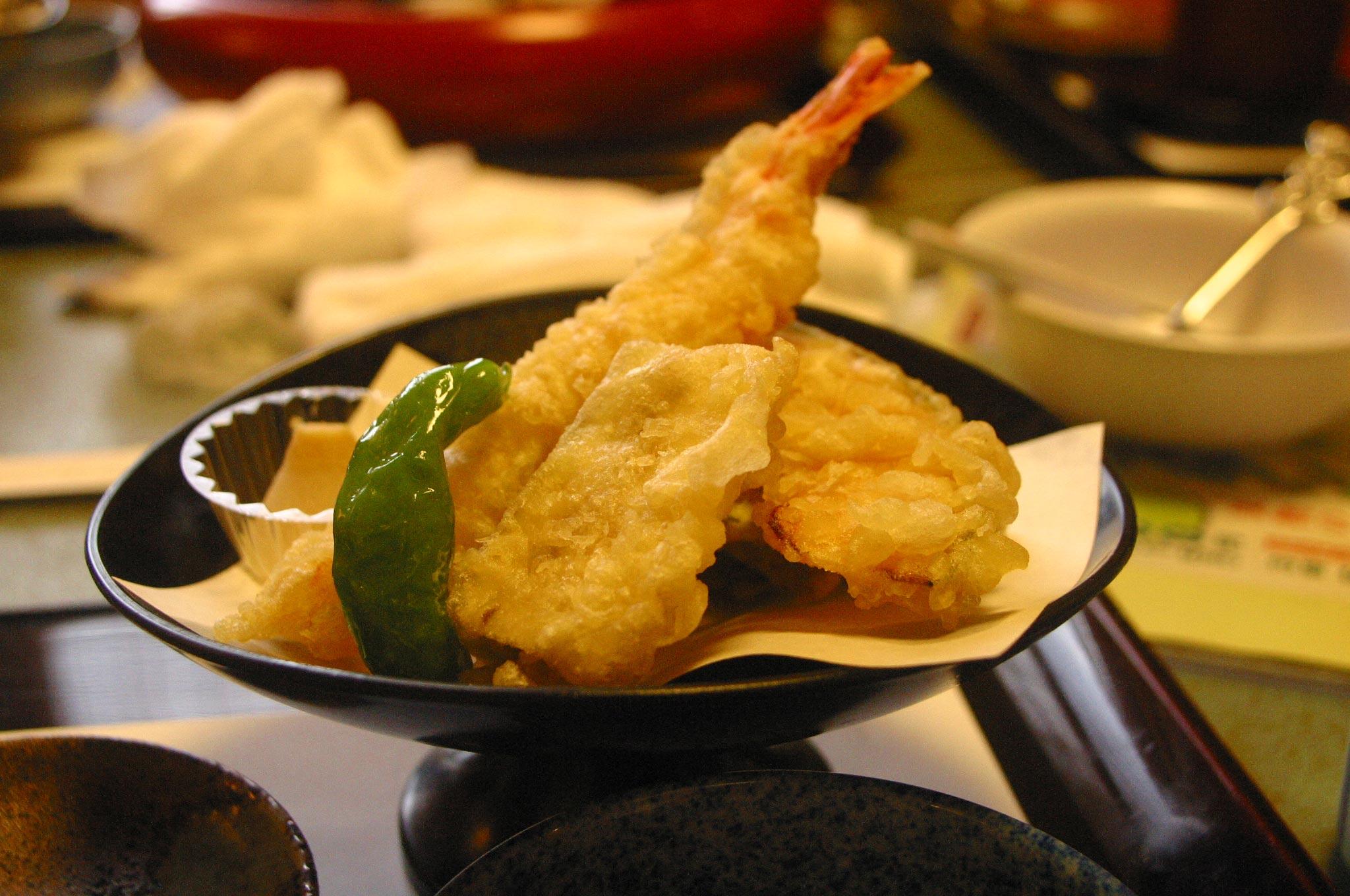 がんこ寿司の天ぷら