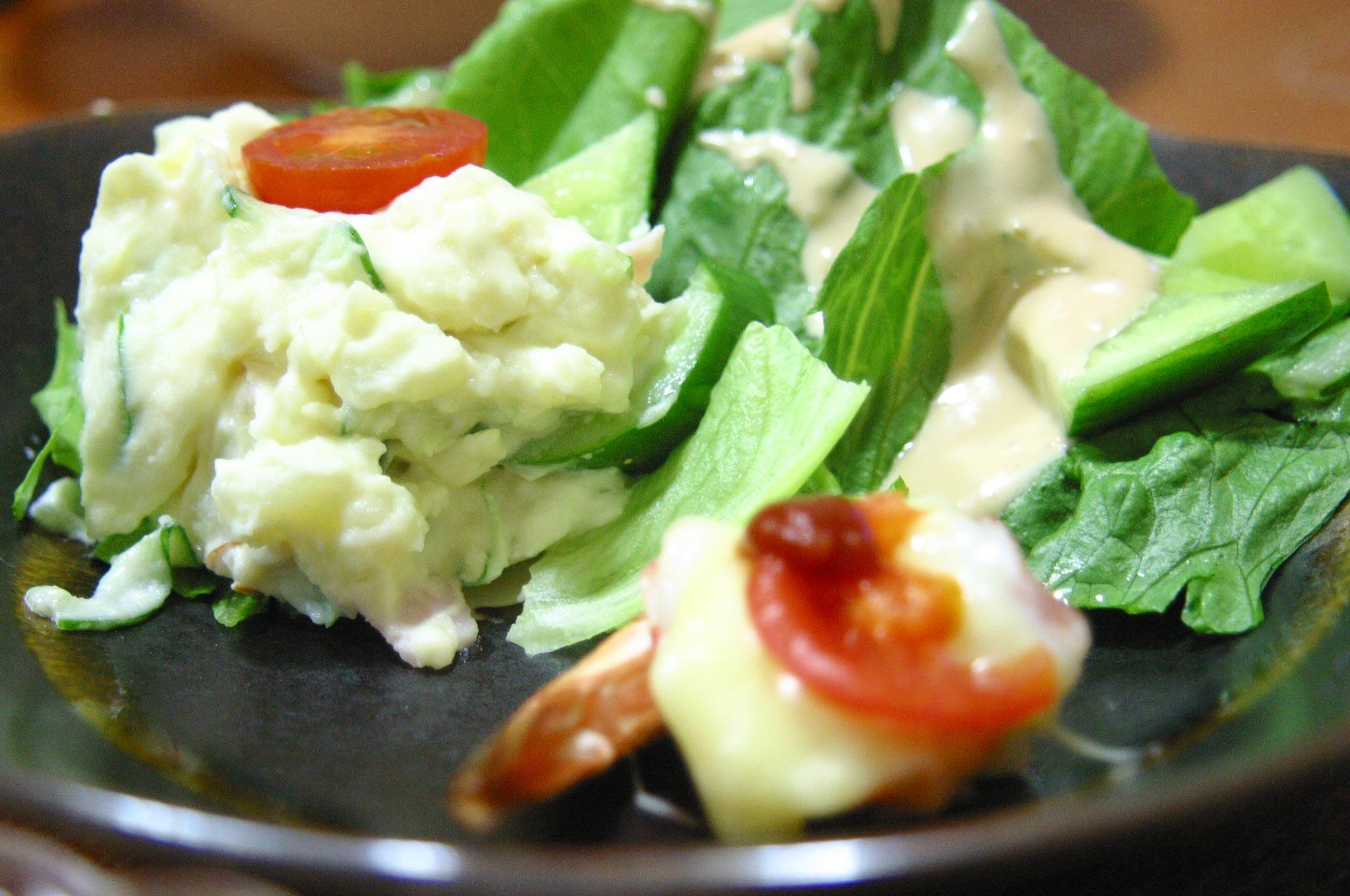 家のポテトサラダ