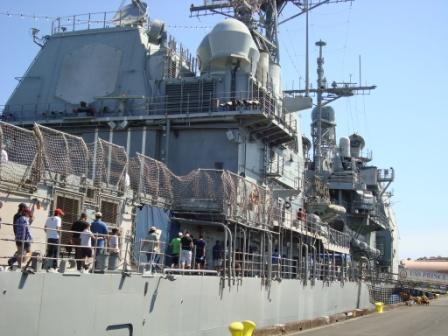 7-30 NAVY SHIP  HUGE!!