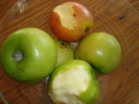 4-10 apples
