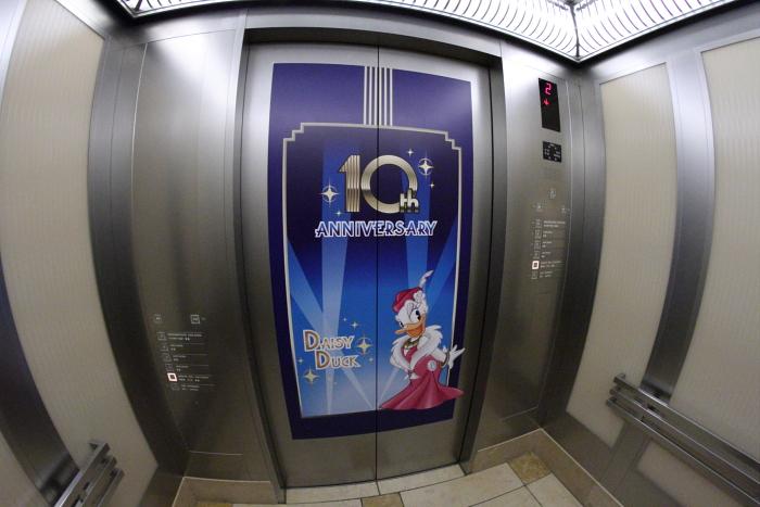 エレベーター原画