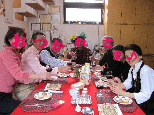 2011・12・04暖炉の傍2