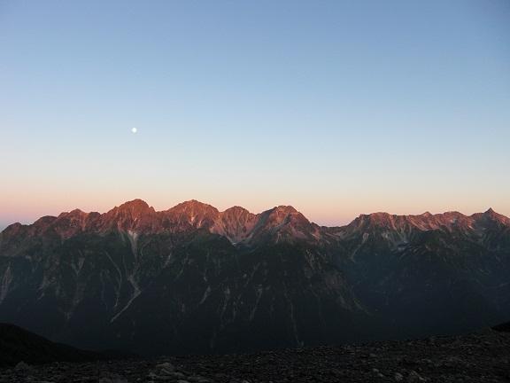 輝き出す・・山々