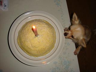 アイ 1歳のバースディケーキ